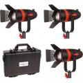 Светодиодный осветитель CAME-TV Boltzen 55Вт Fresnel Focusable LED Tungsten комплект 3шт
