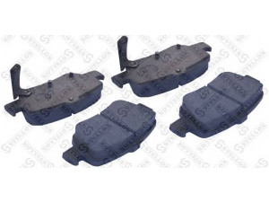 Колодки тормозные задние VK TECHNOLOGY VT 32171 для TOYOTA AURIS
