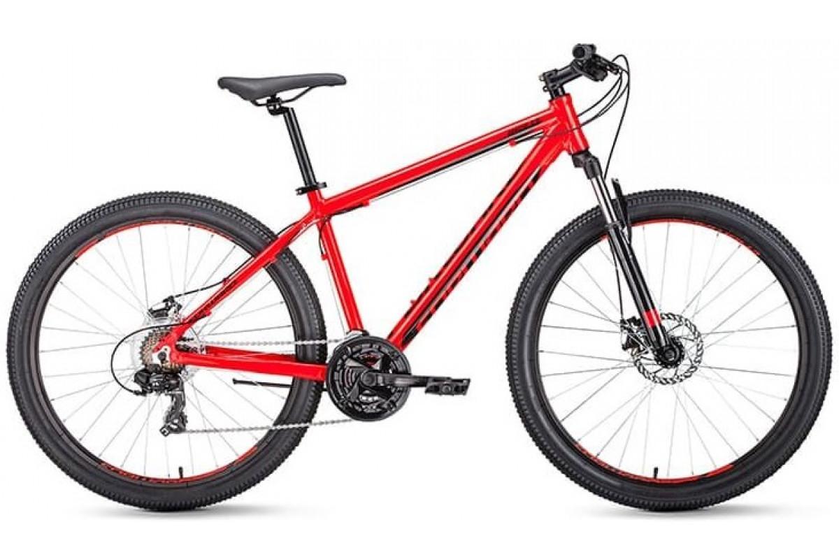 """Велосипед 27.5"""" Forward Apache 2.0 Disc Красный/Черный 18-19 г 17'"""