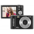 Цифровая камера Andoer Мини 44MP 2.7K 2,88- дюймовый IPS- экран