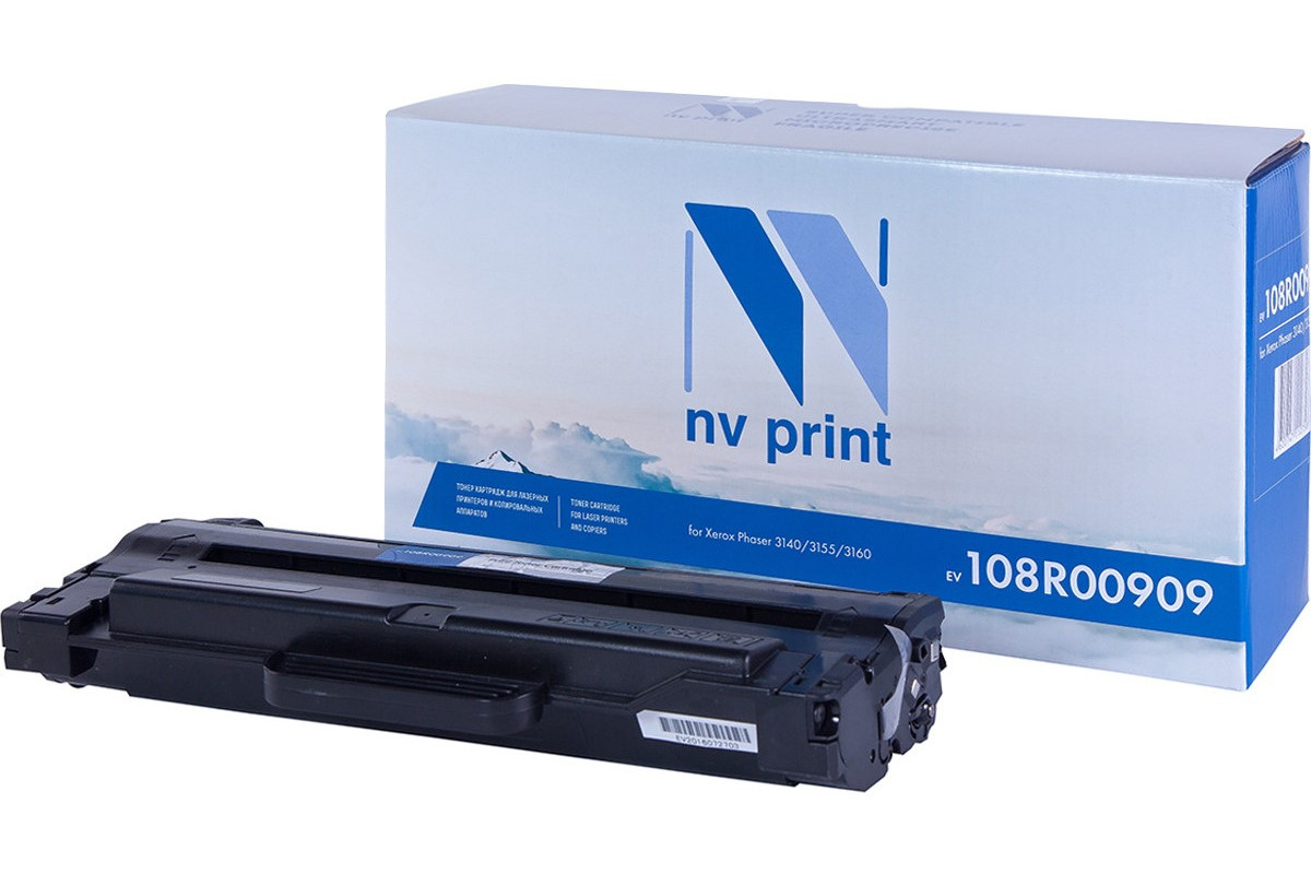 Картридж NVP совместимый NV-108R00909 Xerox для Phaser 3140/3155/3160 (2500k)