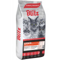 Корм для кошек Blitz Adult Cats Poultry, домашняя птица, 10 кг