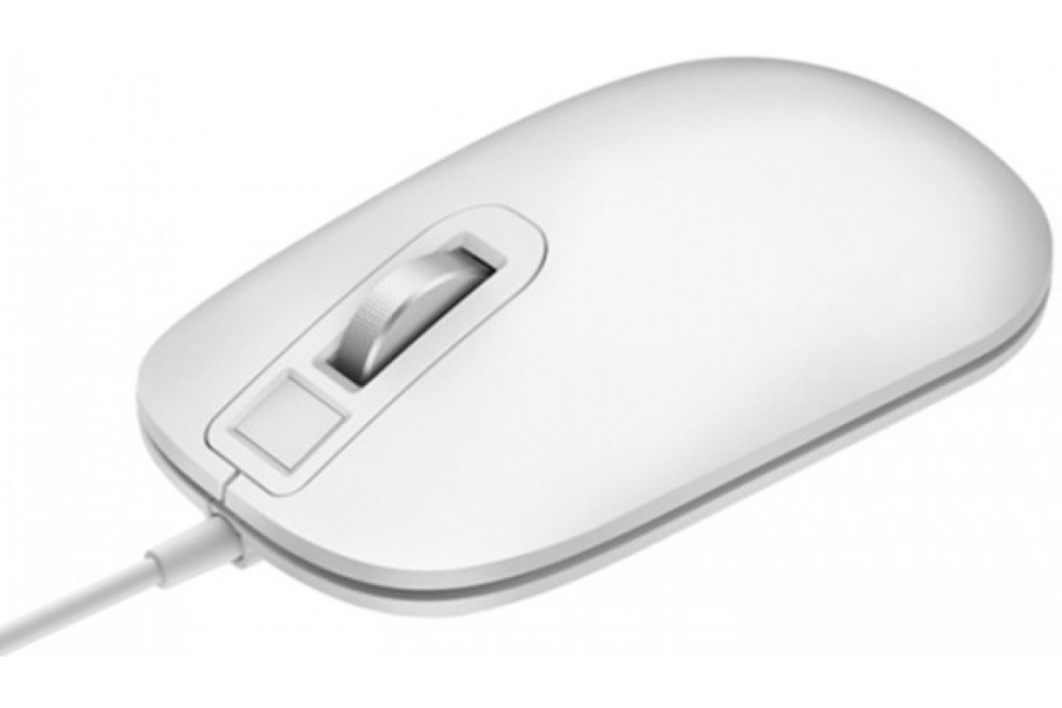 Мышь Xiaomi Jesis Smart Fingerprint Mouse белая