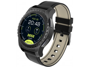 Умные часы KingWear KW28, черные