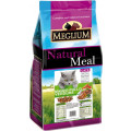 Корм для кошек Meglium, говядина с курицей и овощами, 3 кг