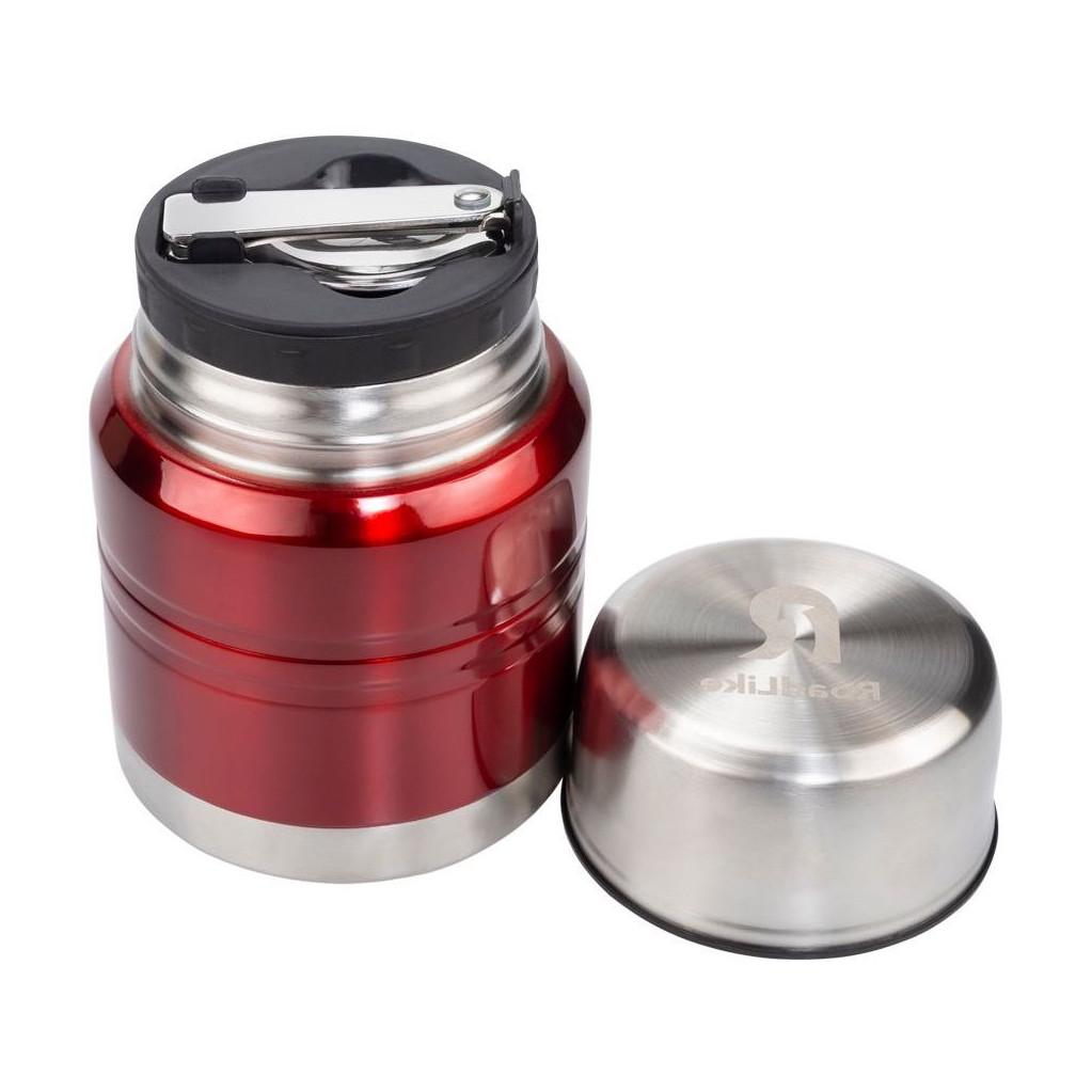 Ланч-бокс термос Roadlike 350мл, красный