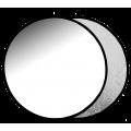 Отражатель 2в1 Raylab RF-09 серебро-белый 110см