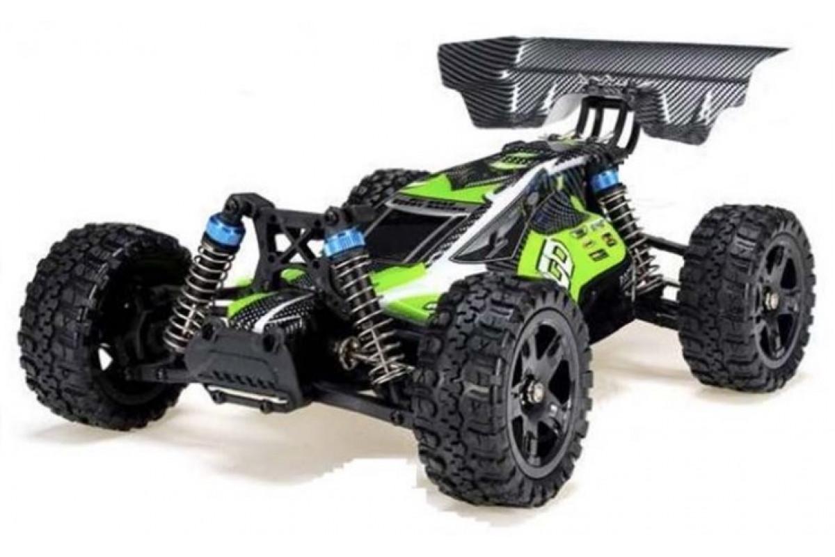 Радиоуправляемый багги Remo Hobby Dingo 4WD 2.4G 1/16 RTR, зелёный