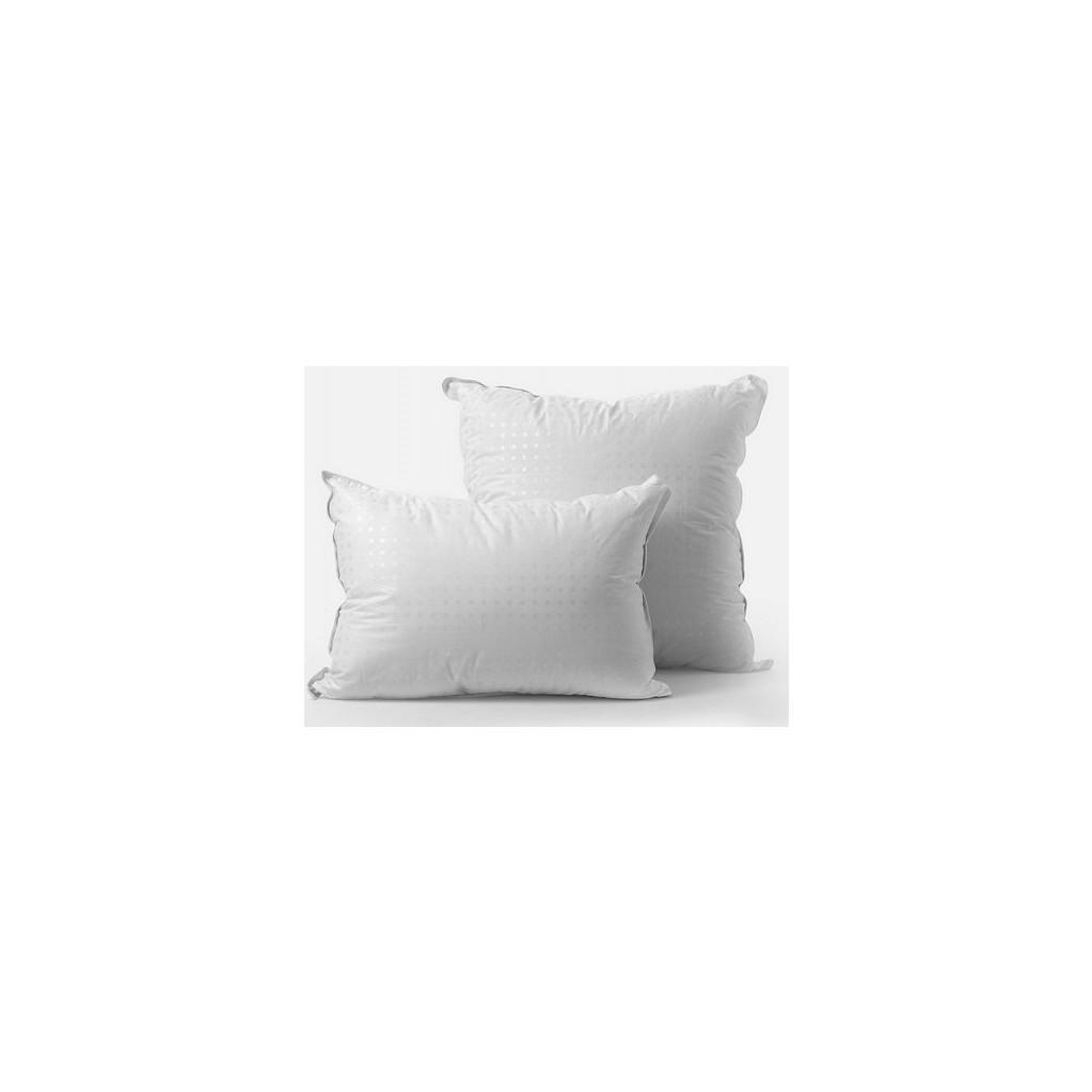 Подушка GoodNight двухкамерная овечья шерсть/искусcтвенный лебяжий пух/тик 50х70