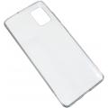 Чехол для смартфона Samsung Galaxy A41 силиконовый (прозрачный), BoraSCO