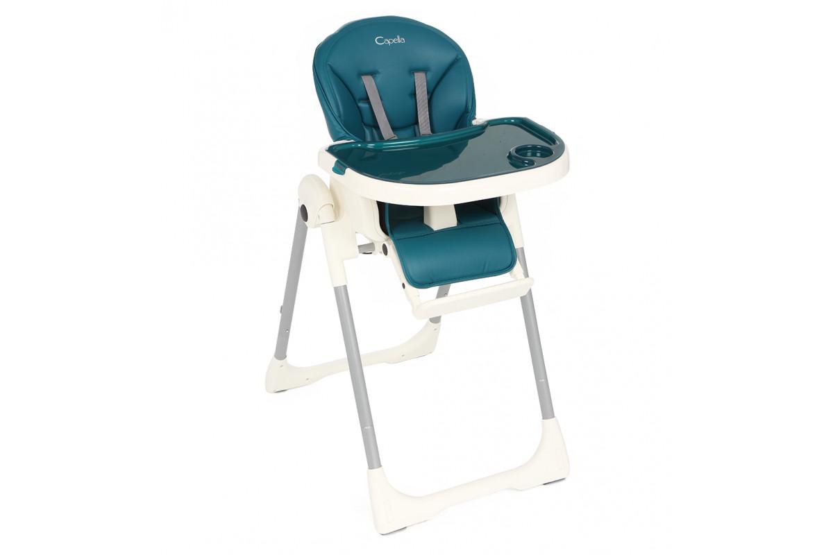 Capella S-207 - стульчик для кормления (синий)