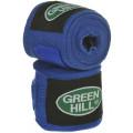 Бинт боксёрский зеленый Hill BC-6235a Синий 2,5 м
