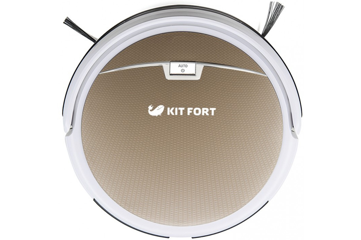 Робот-пылесос KITFORT KT-519 - 3 золотой