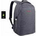 """Рюкзак Tigernu для ноутбука 15.6"""" с USB зарядкой, темно-серый"""