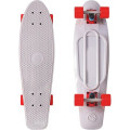 "Y-Scoo Big Fishskateboard 27"" - скейтборд с сумкой Grey-Red"