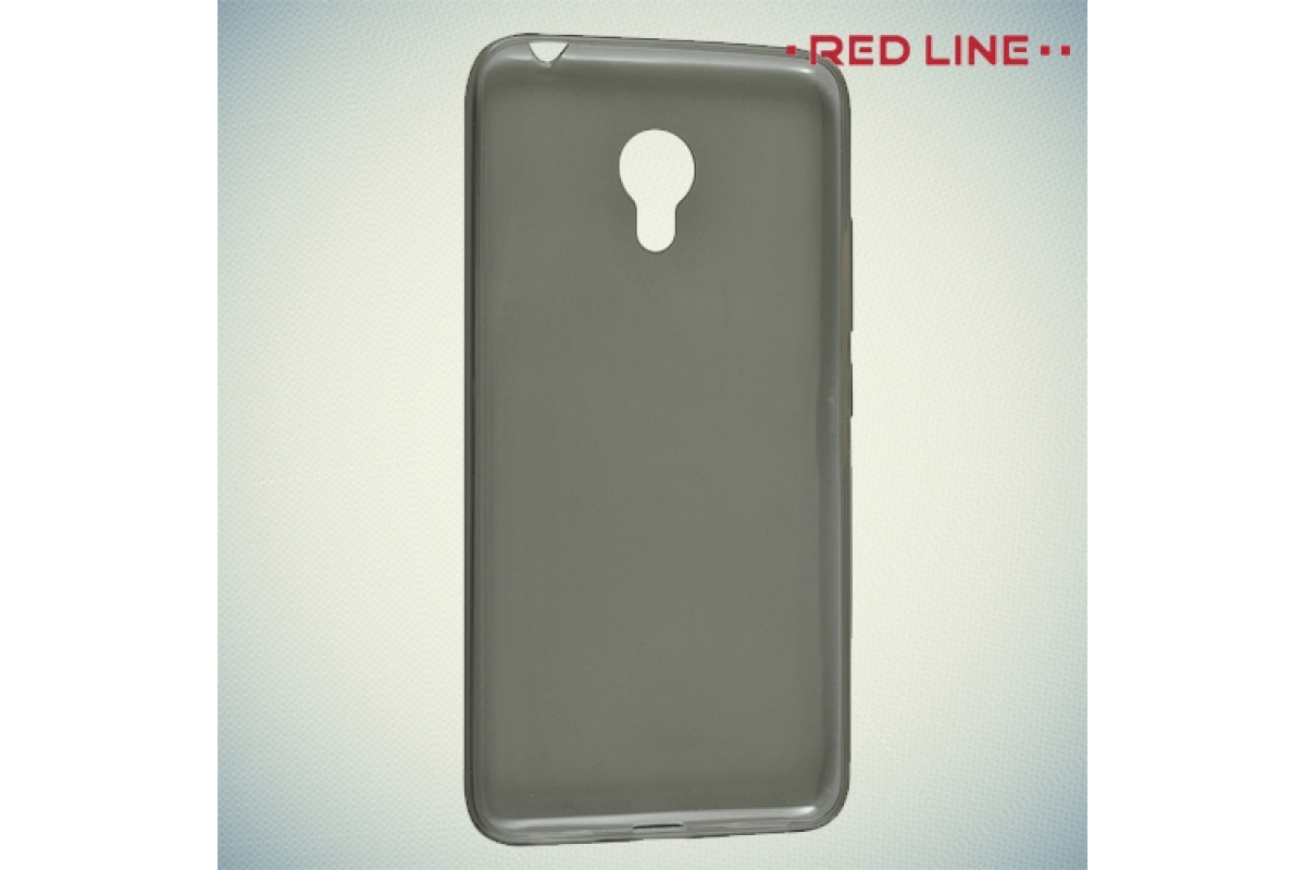 Чехол для смартфона Meizu M3s mini Silicone iBox Crystal (серый), Redline
