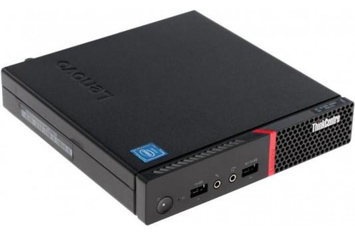Неттоп Lenovo ThinkCentre M600/Intel Celeron N3010 1.04GHz Dual/2GB/16GB SSD/W7ENG/3Y/BLACK