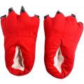 Тапки-лапки Funfur S Красный