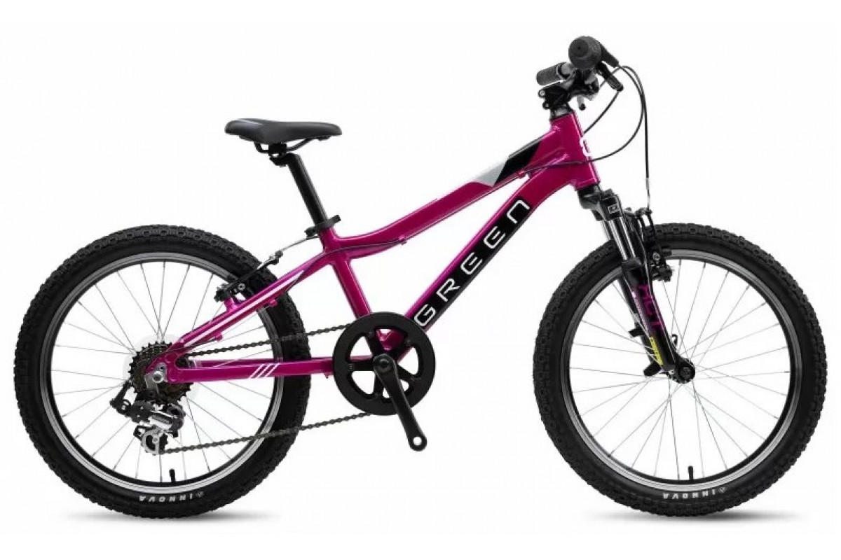 "Велосипед GREEN 2019 Kids 20 (ladies) (Пурпурный) 11""(G1920-03-11)"