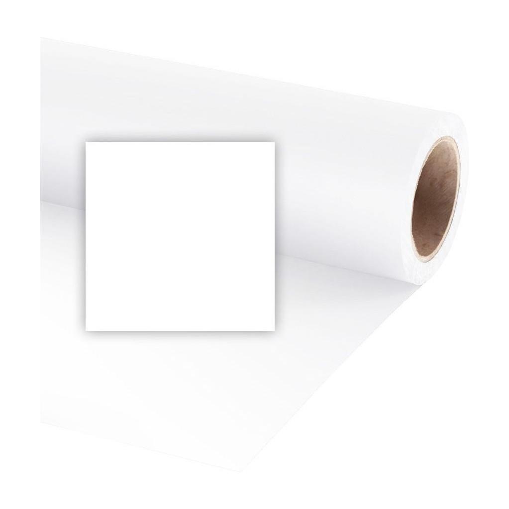 Фон бумажный Raylab 008 Arctic White Белый 2.72x11 м