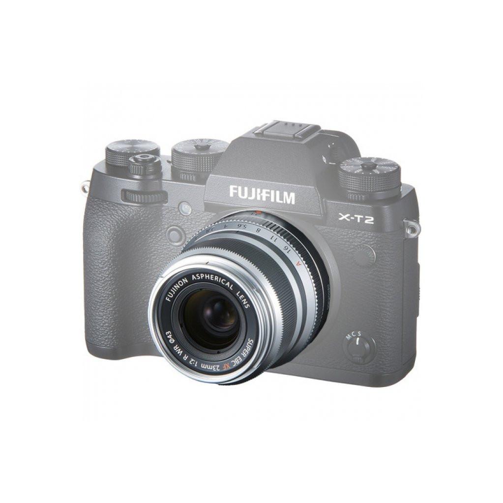 Объектив Fujifilm XF 23mm f/2 R WR серебро
