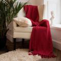 Покрывало INDIBIRD HOME Riviera Collection Канны Темно-красный 180х220