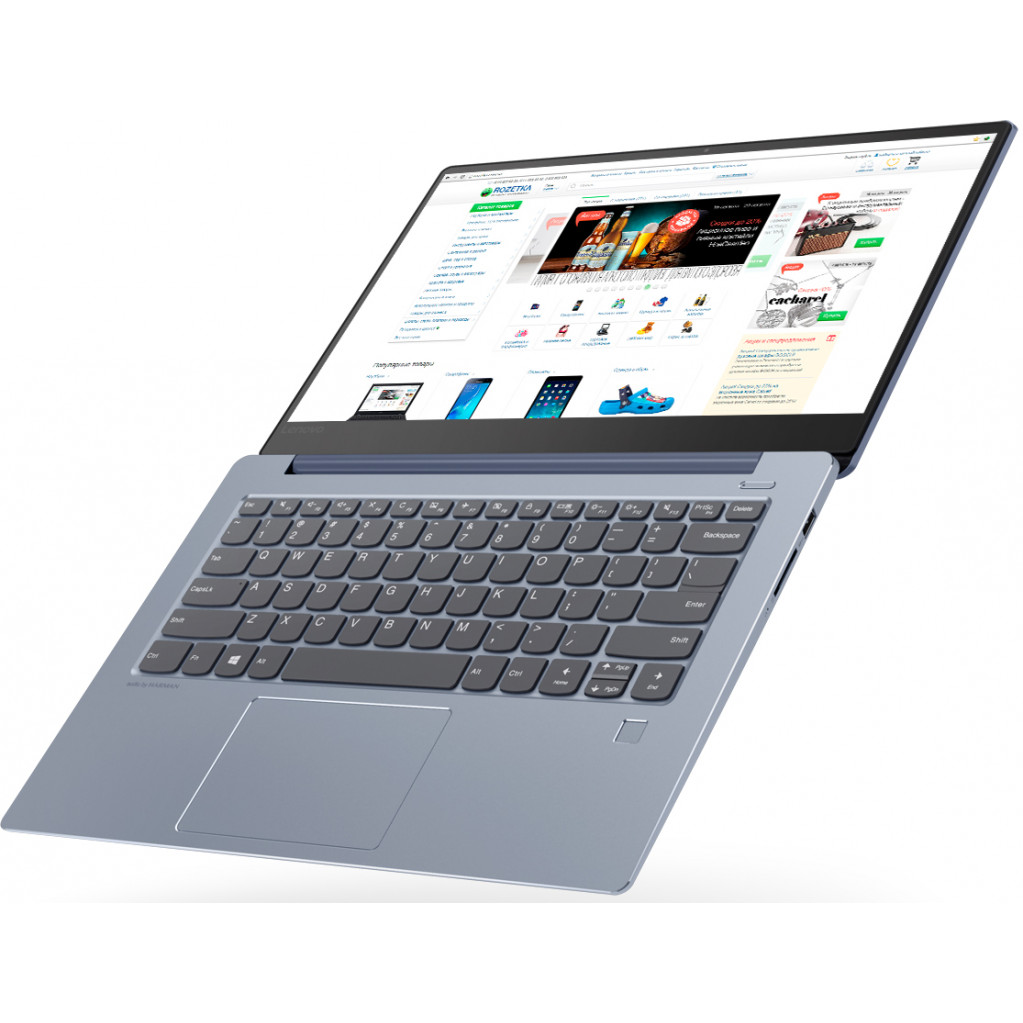 Ноутбук Lenovo IdeaPad S530-13IWL 13.3'' (Core i5 8265U/8Gb/SSD128Gb/Intel UHD Graphics 620/IPS/FHD (1920x1080)/Windows 10) синий