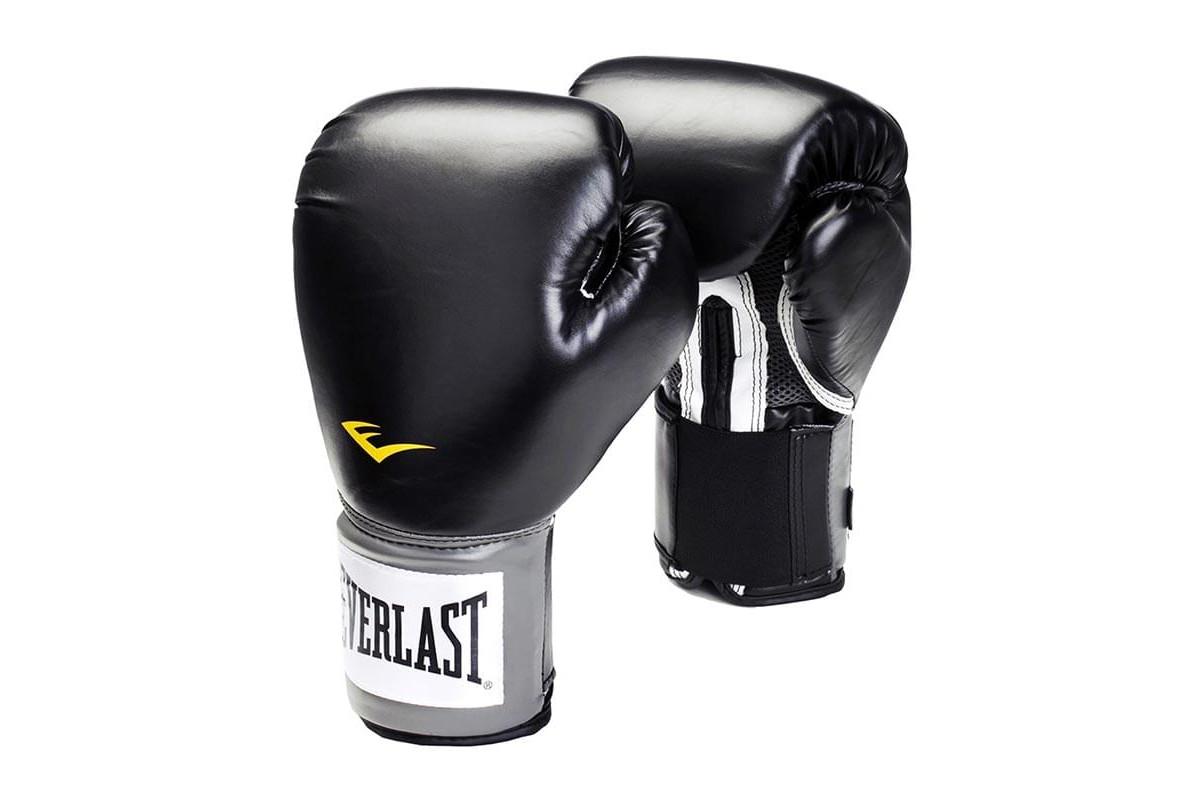 Перчатки боксёрские EVERLAST Pro Style Anti-MB 2314U-Черный 14 унций