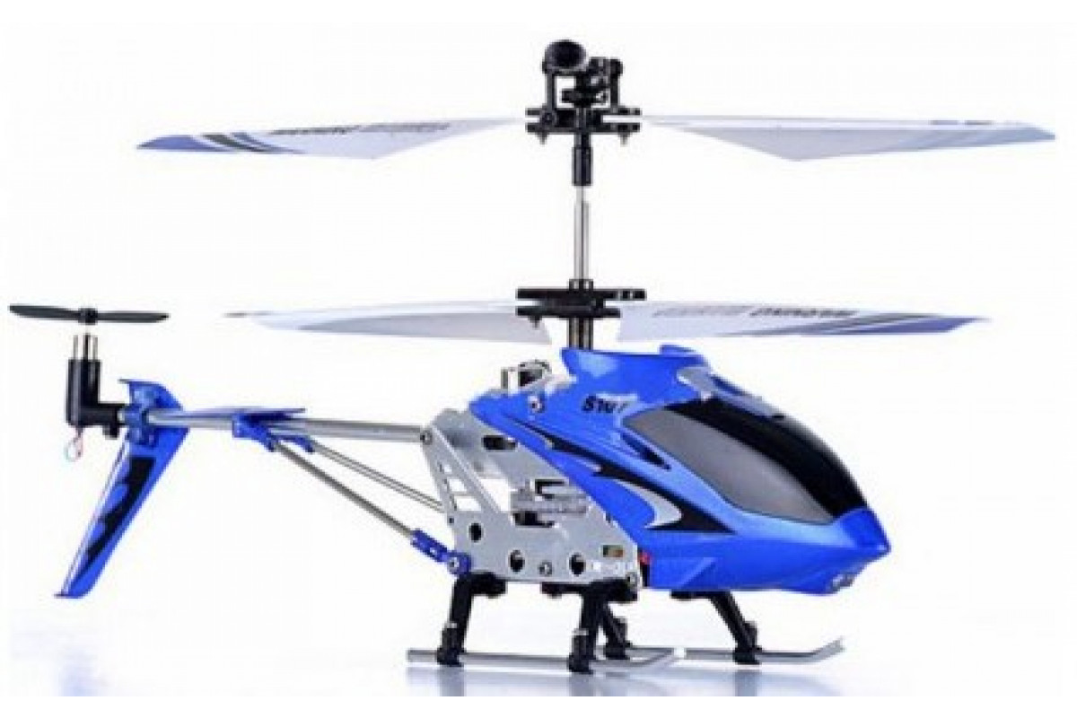 Радиоуправляемый вертолёт Syma S107G, синий
