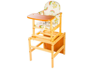 ПМДК Октябренок - стул-стол для кормления Мишки Светлый дуб
