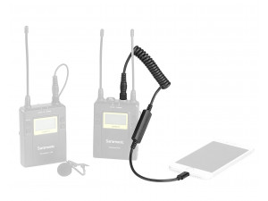 Кабель-адаптер Saramonic LC-C35 3,5мм на Lightning