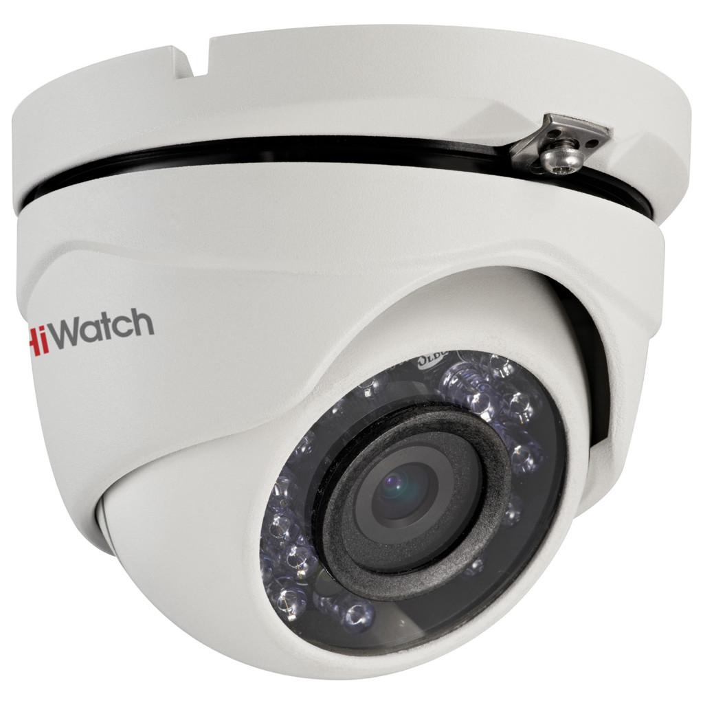 HD-TVI камера с ИК-подсветкой HiWatch DS-T103 (6 mm)
