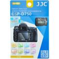 Защитное стекло JJC для Nikon D750 + 2 защитные пленки для верхнего дисплея