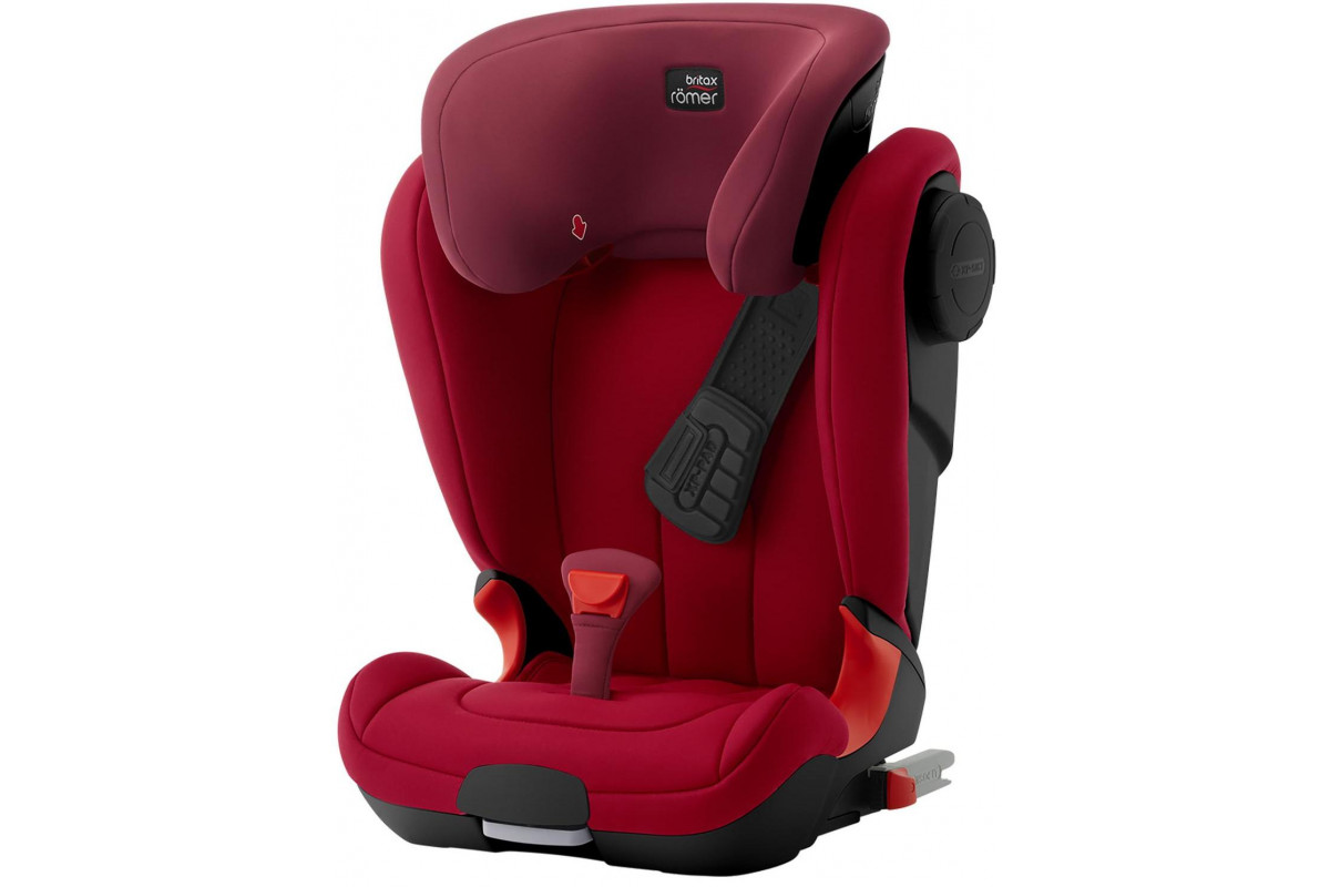 Детское автокресло Britax Roemer Kidfix II XP SICT Black Series Flame Red Trendline красный