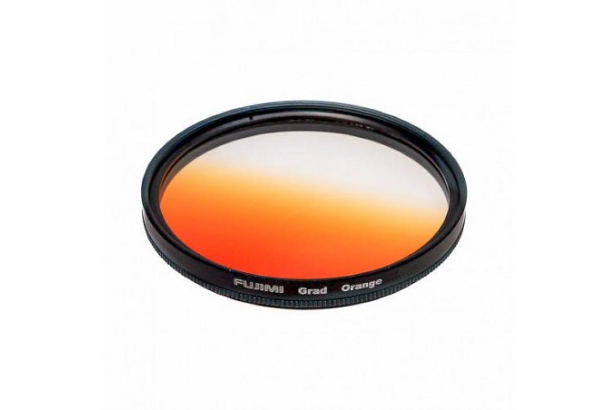 Фильтр градиентный Fujimi 58mm (оранжевый)