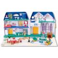 Keenway My Happy Family - дом с предметами, сборный, музыкальный игровой набор