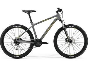 "Велосипед Merida Big Seven 100 MattGrey/Yellow (DarkGrey) 2019 L(19"")(79805)"