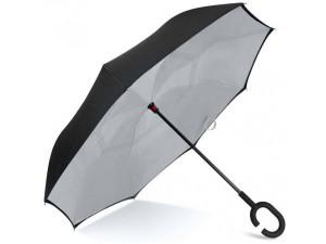 Зонт наоборот Pasio umbrella Серый