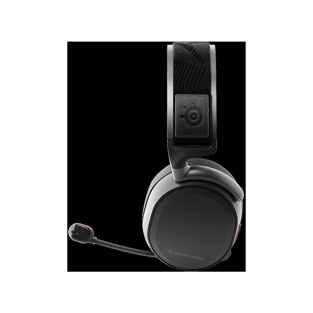 Наушники с микрофоном Steelseries Arctis Pro Wireless черные мониторы BT оголовье (61473)