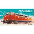Schipper Märklin - Тепловоз 3012-V200, раскраска по номерам, 25х50 см