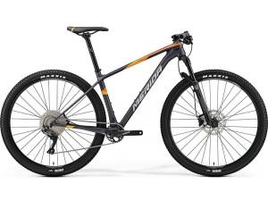 "Велосипед Merida Big Nine 3000 MattDark (Silver/Orange) 2019 M(17"")(89975)"