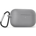 Защитный чехол Bakeey для Apple Airpods 3 / Airpods Pro 2019, с брелоком, серый