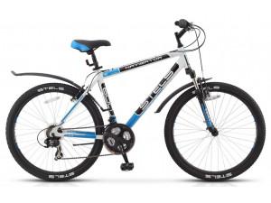 Велосипед Stels Navigator 600 V Серый/Серебристый/Зеленый (16 г) (LU085064) 17'