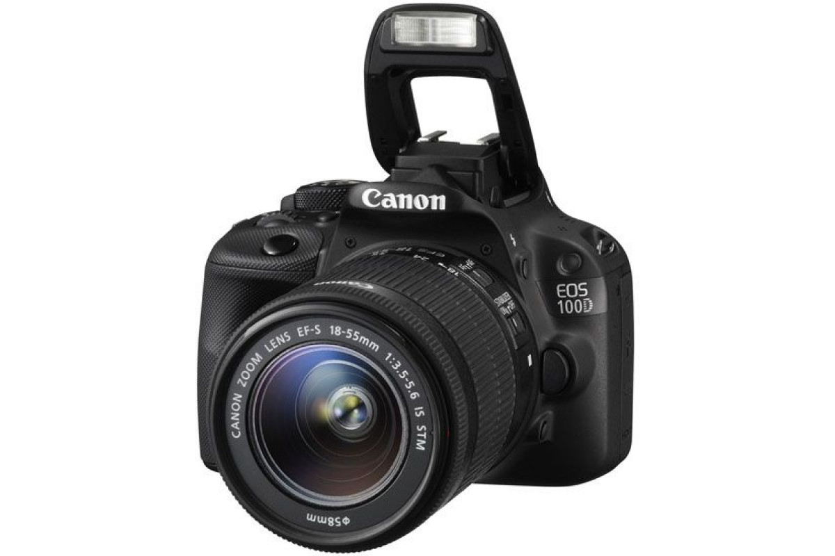 Зеркальный фотоаппарат Canon EOS 100D Kit 18-55 IS STM X4509