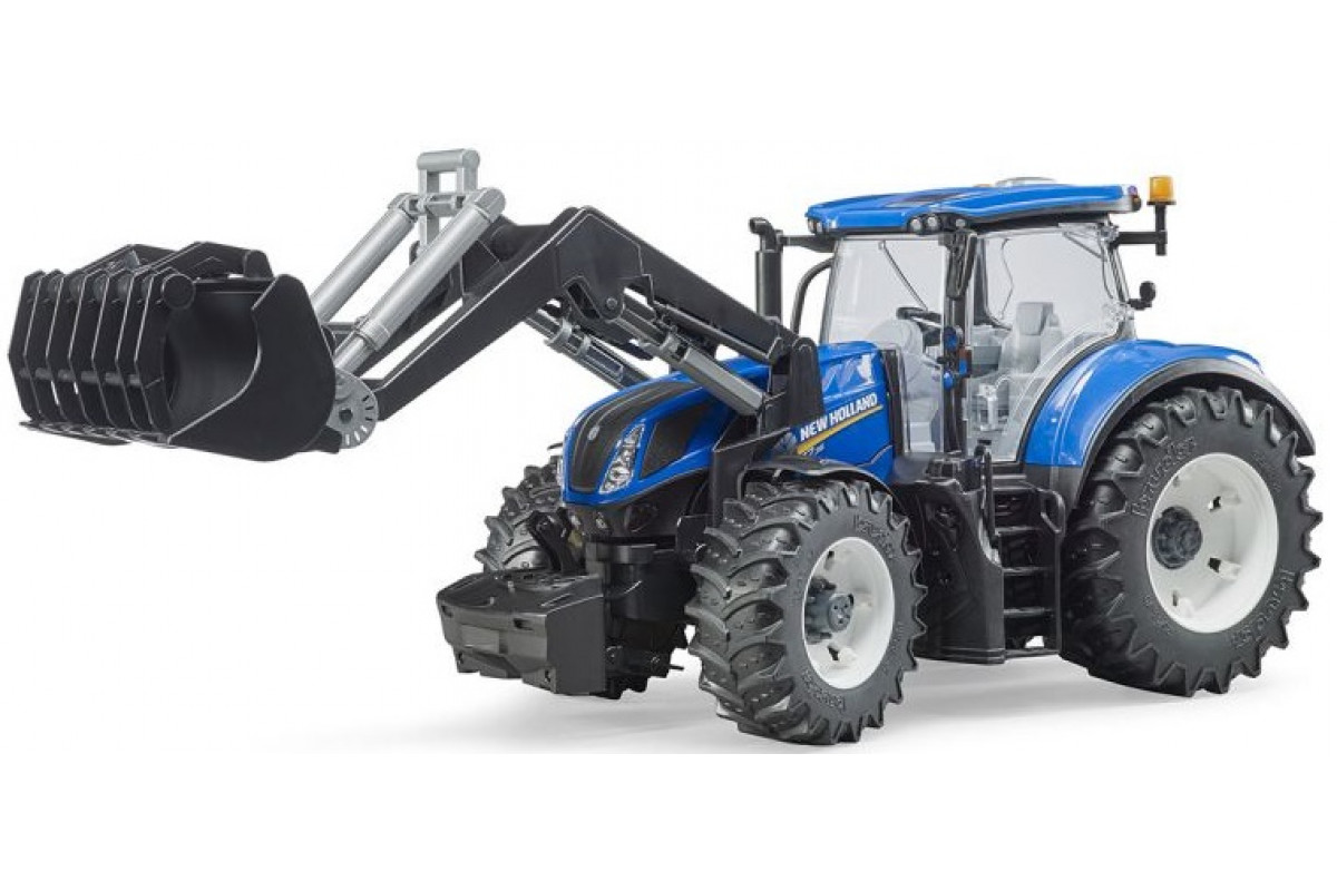 Bruder Трактор New Holland T7.315 с погрузчиком