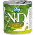 Консервы для собак всех пород беззерновые Farmina N&D PRIME кабан и яблоко, 285 г
