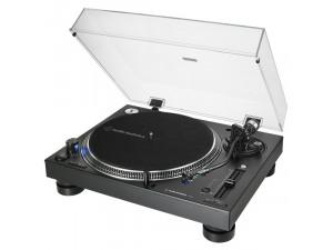 Виниловый проигрыватель Audio-Technica AT-LP140XPBKE, черный
