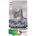 Корм для стерилизованных кошек ProPlan Sterilised, утка с печенью, 1,5 кг + пауч 4шт.*85г