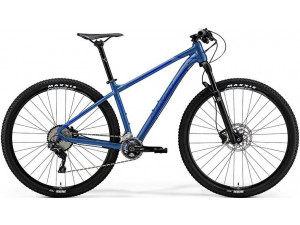 "Велосипед Merida Big Nine XT-Edition Silk Sea Blue (Silver/Dark Blue) 2019 M(17"")(75425)"