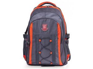 Рюкзак для школы и офиса Brauberg SpeedWay 1, 46*32*19см, 25 л, серо-оранжевый